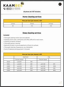 Sample Advertising Proposal Free 10 Best Cleaning Services Price List Examples