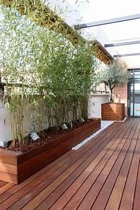 Terrasses En Vue : brise vue bambou et cl ture pour plus d intimit dans le ~ Melissatoandfro.com Idées de Décoration