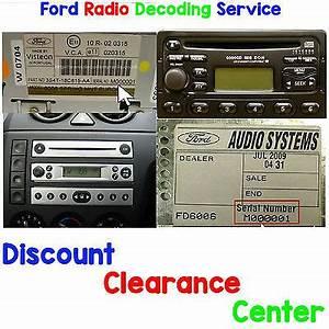 Code Autoradio Ford : ford focus 1998 2004 mk1 mk1 5 factory visteon radio ~ Mglfilm.com Idées de Décoration