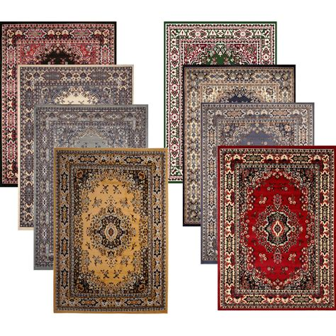 Carpet As Area Rug by Traditional Medallion Style 8x11 Large Area Rug
