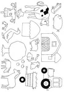 Printable Farm Coloring Pages