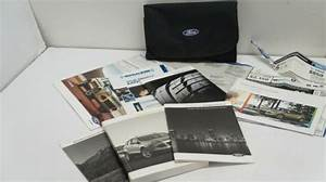 2013 Ford Escape Owners Manual    Handbook    Guide Package