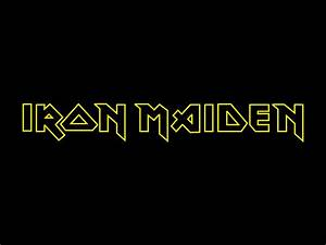 Iron Maiden band logo wallpapers | Band logos - Rock band ...