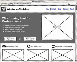 top 10 wireframe tools that any designer must know about With html5 wireframe template
