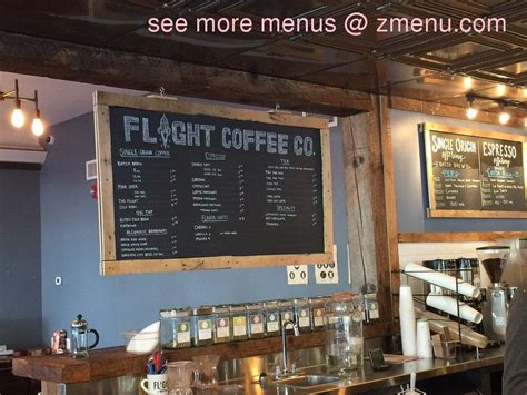 On the street of central avenue and street number is 478. Online Menu of Flight Coffee - Dover Restaurant, Dover, New Hampshire, 03820 - Zmenu