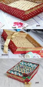 saree packing packaging a saree gift a saree paper pack With gift wrapping for indian wedding