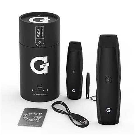 G Pen Elite Portable Dry Herb Vaporizer   King Pen Vapes