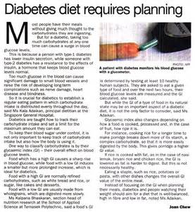 Diabetes Diets Diabetic Food
