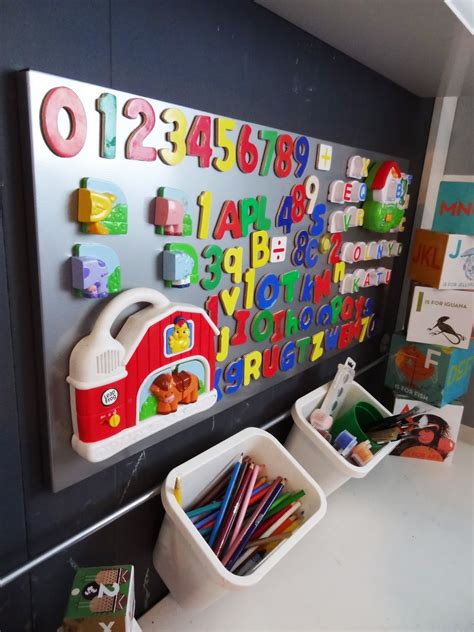 ikea magnetic board with hanging rod for baskets
