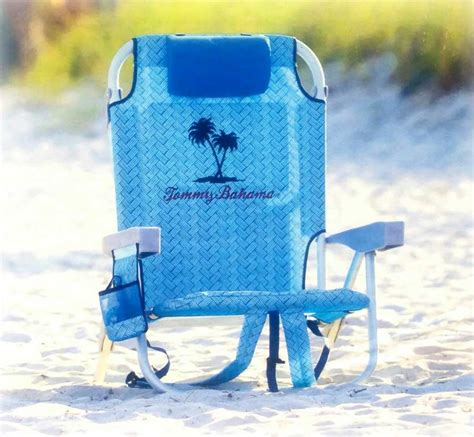 Bahama Backpack Cooler Chair Blue by Bahama Backpack Cooler Chair Lite Blue