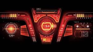 Future, Design, -, Hi-tech, Car, User, Interface, Gui, Dashboard, Speedometer