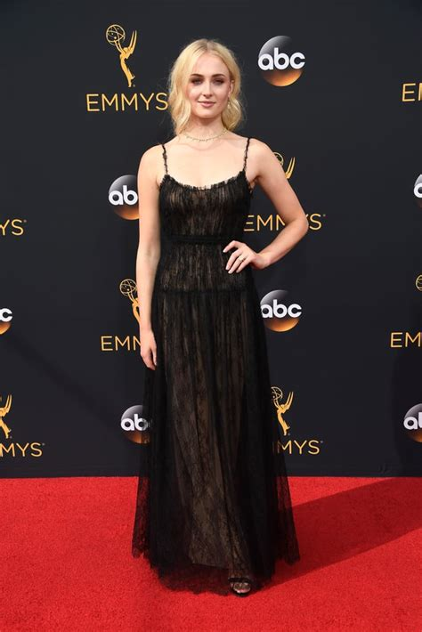 Sophie Turner at the Emmys in 2016   Sexy Sophie Turner ...