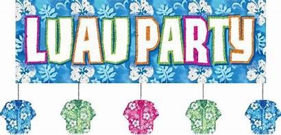 Luau Hawaiian Clip Word Clipart Graphics Kid