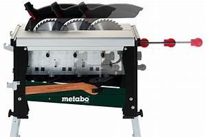 Scie Sur Table Metabo : uk 290 0102900000 scie circulaire radiale sous table ~ Dailycaller-alerts.com Idées de Décoration