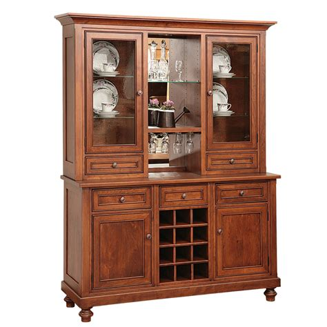 Oceanside Dining Collection Hutch With Buffet Amish