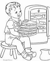 Sandwich Raisingourkids álbuns sketch template