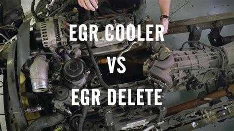 egr delete  egr cooler youtube