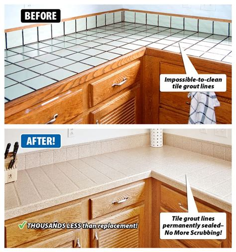 kitchen tile refinishing best 25 painting tile countertops ideas on 3278