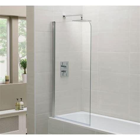 glass shower screen why fit a bath shower screen bath decors