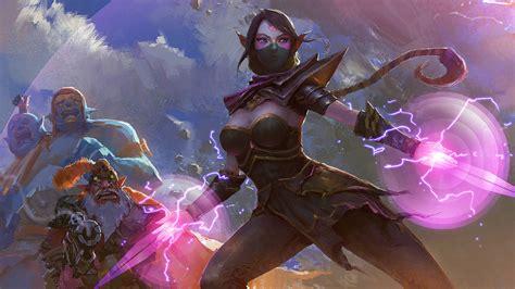 dota 2 fan templar assassin wallpapers hd desktop dota 2 fan templar assassin