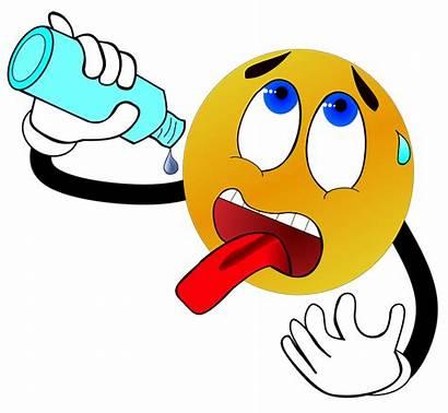 Thirsty Clipart Sed Water Drink Thirst Emoji