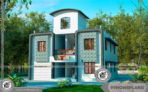 narrow site house design   small classic simple home collection