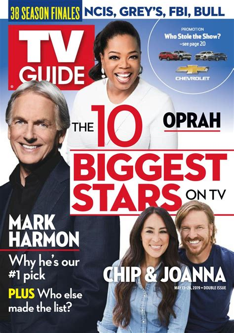 TV Guide Magazine-May 13-26, 2019 Magazine - Get your ...