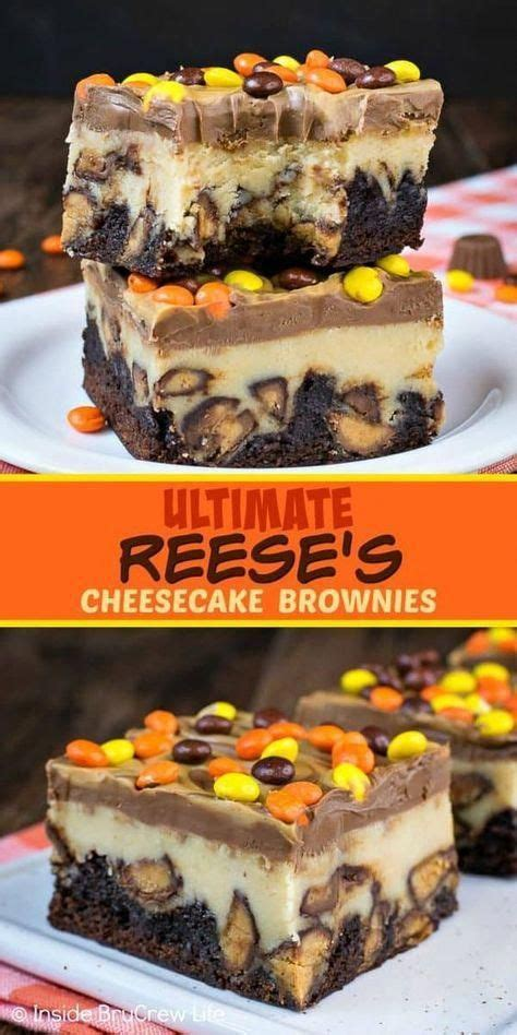 Anyone can enjoy these recipes, even those without allergies to eggs. Ultimate Reese's Cheesecake Brownies - swirls of peanut ...