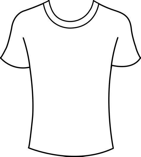 tshirt png clipart best black t shirt outline clipart best