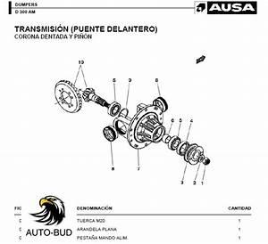Ausa D 300 Am Dumper Parts Catalog Auto Repair