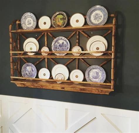 rattan plate rack plate racks plate rack wall rustic plates