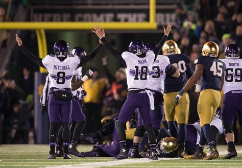 northwestern s upset of notre dame is bad news for florida