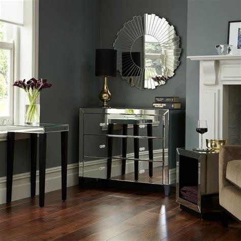 beautiful living rooms  mirrored furniture