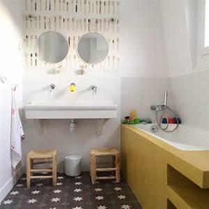 carrelage metro salle de bain lertloycom With carrelage metro pour salle de bain