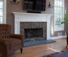 wall ideas for bathrooms fireplace mantle in white with stacked surround set