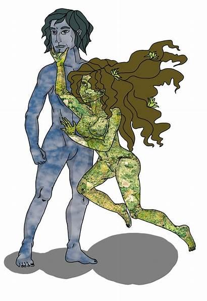 Gaia Ouranos Mythology Deviantart Uranus Gods