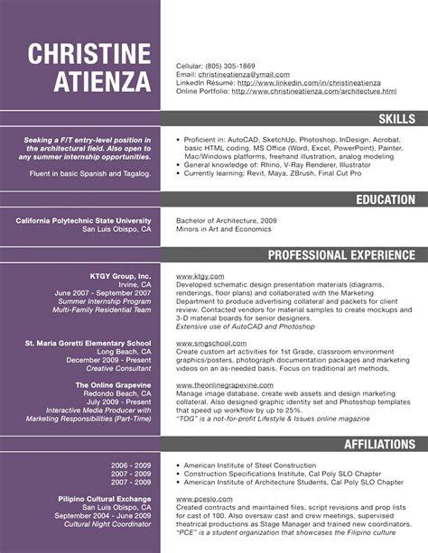 modern best resume format architects innovative resume