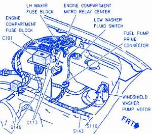 Cadillac Krystal 1992 Engine Electrical Circuit Wiring
