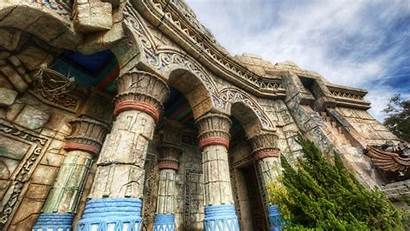 Ancient Buildings Columns Wallpapers Architecture Building Hdr