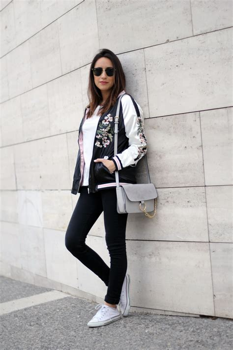 Outfit Bomber Jacket