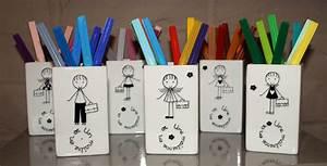 Cadeau Pour Maitresse D École : pot crayons pour la ma tresse ou le ma tre id e ~ Melissatoandfro.com Idées de Décoration
