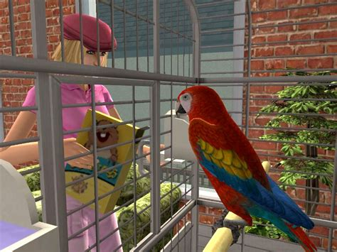 sims pets screenshots pc ds psp parrot gamecube nintendo wii playstation