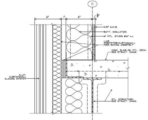 Kawneer Curtain Wall Cad Details by Kawneer Curtain Wall Details Www Pixshark Images