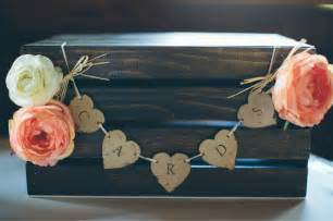 DIY Rustic Wedding Card Box