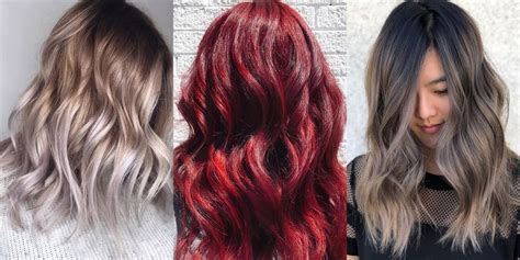 10 Best Hair Color Trends 2018 Top Hair Colors of the Year