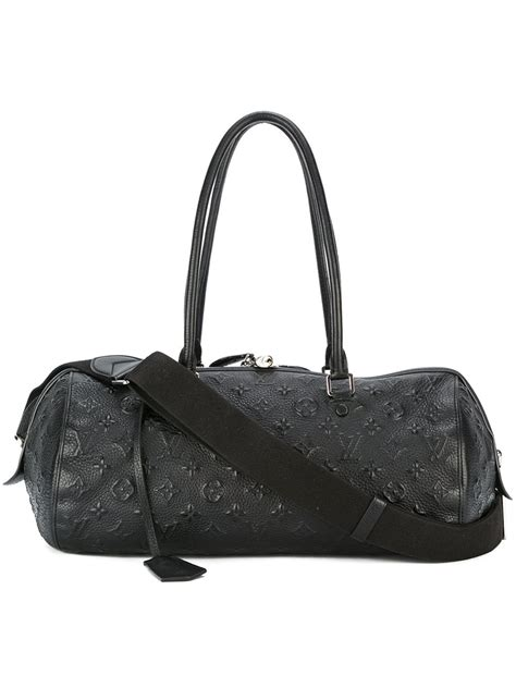 louis vuitton monogram shoulder bag  black lyst