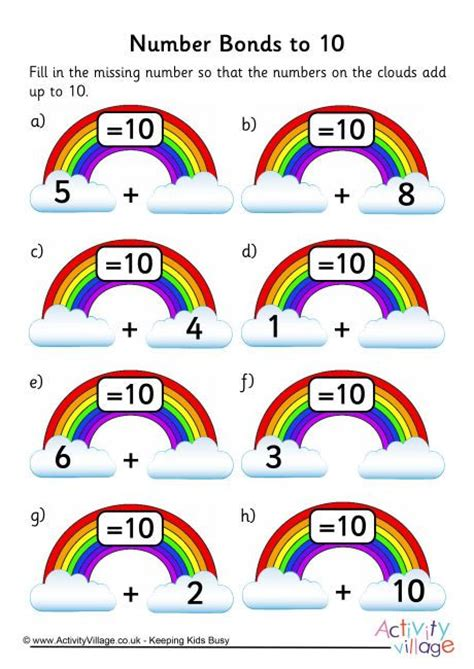 the 25 best ideas about number bonds on