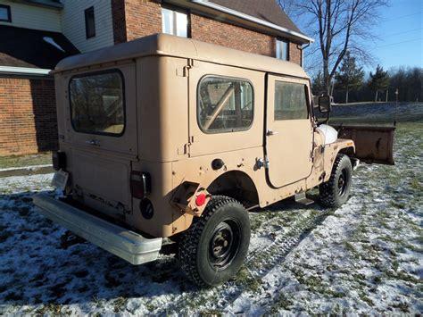jeep cj   snow plow blade hardtop  amc cj cj
