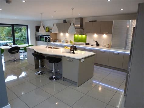 granite topped kitchen island studies
