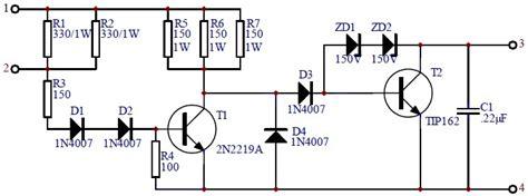 car transistor ignition circuit scheme